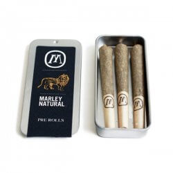 Trinity Star Pre-Rolls Marley Natural (3 pack)