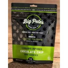 10-Pack Chocolate Chip Indica Cookies Big Pete's